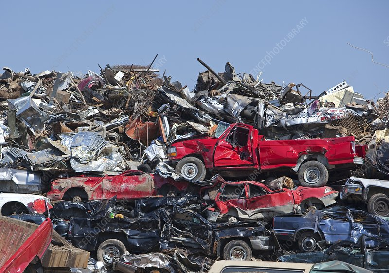 Crushing old cars and sending them overseas for scrap … it's a crime